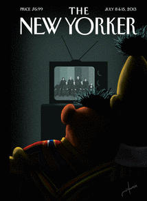 Going Viral Prior To Hitting Newsstands, Bert & Ernie Outed In The New Yorker