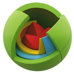 The Oblo - 3d Didactic Puzzle Goodness