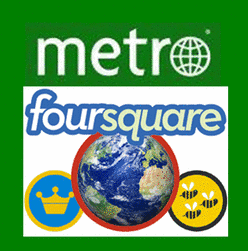 Metro & Foursquare partner