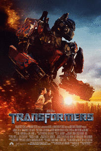 Transformers movie poster.