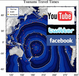 Chile Tsunami &amp; Social Networks