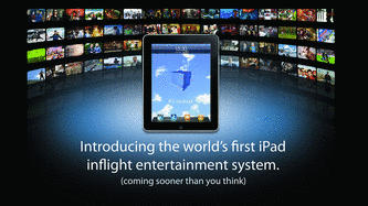bluebox Ai iPad inflight entertainment!