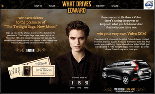 Twilight New Moon & Volvo Social Media Campaign