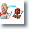 Hugo Chavez & The Devil Will Fight On Social Networks