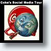 Coca Cola's Magic Mystery Social Media Tour