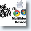 Kindle, Sony, Nook vs Apple, Google, Microsoft - One Trick Ponies vs Multimedia Devices