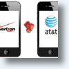 Apple Sits In Catbird Seat While AT&T & Verizon Duke It Out Over iPhone 4 Prey