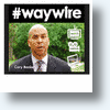 Cory Booker, The Social Media Mayor&#039;s #Waywire Disrupts The News Via Video [Videos]