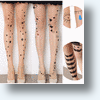 Zehui Women's Tattoo Leggings Provide A Daring Body Art Look Without The Commitment