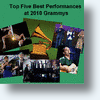 Top Five Performances At 2010 Grammys