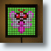 Game Frame Lights Up Your Wall With Pixel Art
