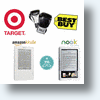 Kindle vs Nook, Target vs Best Buy - eBook Readers Go Retail!