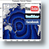 Social Networks Tweet, YouTube &amp; Status Update News From Chile Tsunami Epicenter
