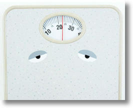 Watching Your Weight? So's This Scale... With Eyes