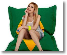 Kick Back In A World Cup Beanbag Chair from NewX