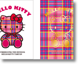 Hello Kitty Tartan Celebrates Cute Icon&#039;s 35th Birthday
