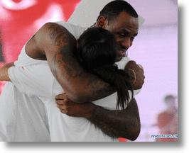 LeBron James Takes His Talents to China