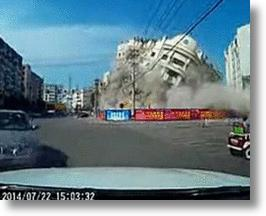 Condemned Chinese Building Goes Boom, Video Footage Goes Viral