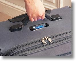 Self-Weighing Suitcase Lightens The Load On Your Wallet