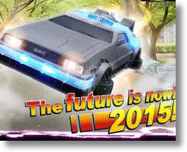 "It's Time For The Back To The Future II DeLorean Time Machine ""Crazy Case"" for iPhone 6"
