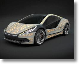 EDAG Light Cocoon Concept Car Makes Like A Leaf