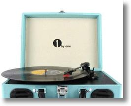1ByOne Portable Turntable and Music Player