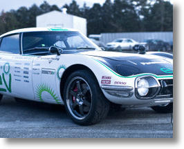 Solar Powered &amp; Retro Styled Toyota 2000GT SEV Sounds Crazy, Sparks Interest