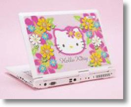 Hello Kitty Laptop, the Cuter Computer