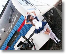 Japanese 'Maid Trains' Hope Miniskirts Will Maximize Ridership