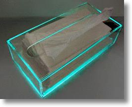 Need to Blow Your Nose? Look for EcoLife Box's Soft Green Glow