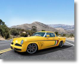 GWA Auto Design & Tuning's Veinte Victorias Concept Studebaker Cooks With Gas
