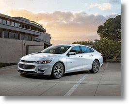 2016 Chevy Malibu Sheds 300 Pounds, Gains 4 Inches Of Wheelbase