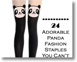24 adorable panda clothing items and accessories you can't live without