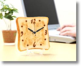Breakfast Time is Anytime with the Toast Clock
