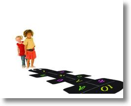 Hopscotch Floor Decal