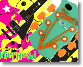 Candies Guitar Head iPhone 4s Cover