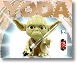 USB Yoda On Your Computer Monitor Sits