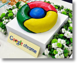 Google Japan Celebrates Chrome Browser With Tasty Eye Candy