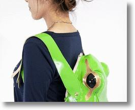 Frog Backpack Gets The Jump On Back-to-School Fashion