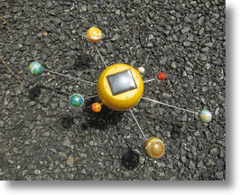 Solar Planet, the Interplanetary Orrery that Runs on the Sun