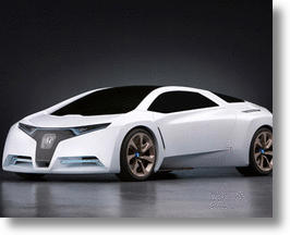 Honda concept hydrogen powered car.