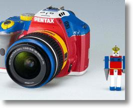 Pentax K-x DSLR Camera Shows Off Robotic Colors