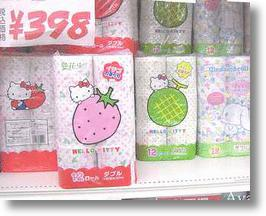 Hello Kitty Scented Bathroom Tissue