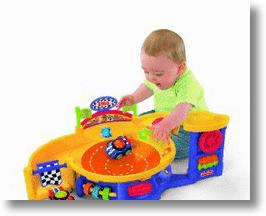 Fisher-Price Lil' Zoomers Spinnin' Sounds Speedway