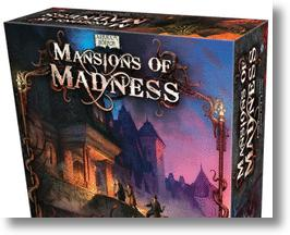 Mansions of Madness Board Game.