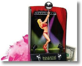 Pole Dancer Alarm Clock - A fun way to wake up.