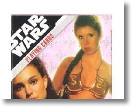 Ladies of Star Wars playing cards.