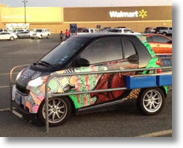 Attention Crazed 'Mart Shoppers: Ten More Cars Of The People Of Walmart