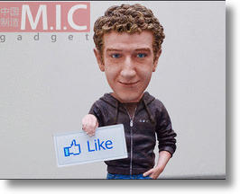 Mark Zuckerberg Action Figure Pokes Fun At Facebook Founder