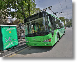 Green Chariot E-bus Brings Ultra-Capacitor Technology To Europe's Gray Streets
